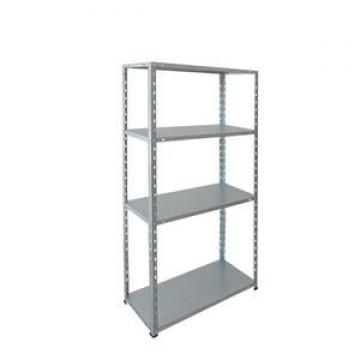 White Color Corrosion Protection Safe Curled Edge Upright Steel Storage Adjustable Warehouse Shelving And Rack