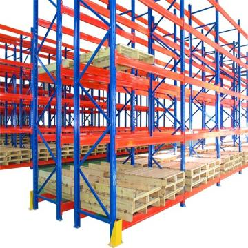 Commercial Single Deep Pallet Rack Beam Types