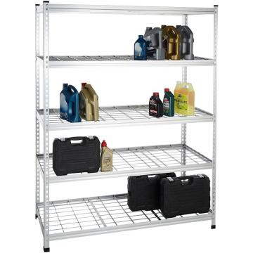 utility adjustable heavy duty aluminium wire mesh display racks and stands china shelving warehouse wheels