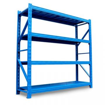 Heavy duty adjustable steel garage storage shelving rack