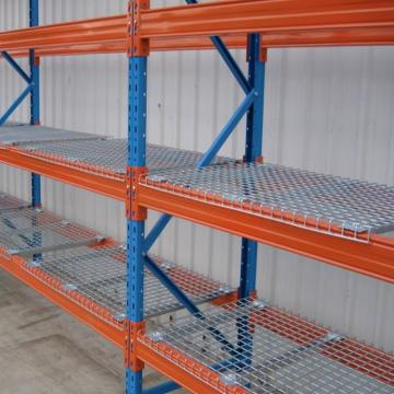 Wholesale shelving units black tubular yarn storage metal pallet rack