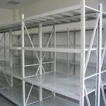 powder coating white insert metal warehouse shelf